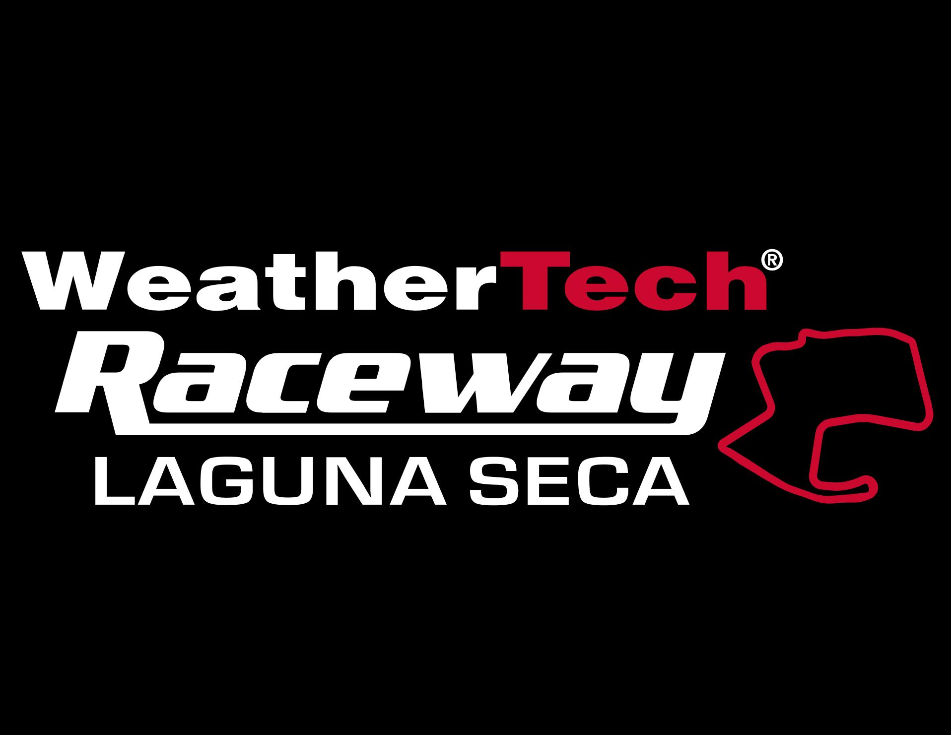 Laguna Seca Logo Čierny okraj